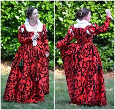 1580's Venetian Gown on MorganDonner.com