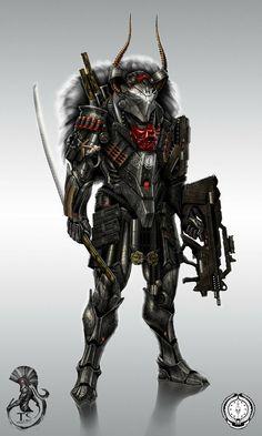 ... weapons zatichi armor digital art concept art science ficti Wallpaper #arts - Stylendesigns.com!