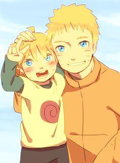 Naruto and Bolt.