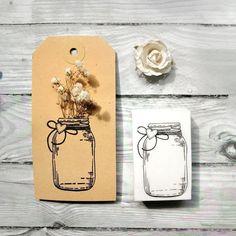 """Sellos Cable A Tierra on Instagram: """"Este sello de frasco me parece que se lleva todos los premios! . . .  Probaron intervenir tags con flores secas? .  Les traigo una opción…"""""""