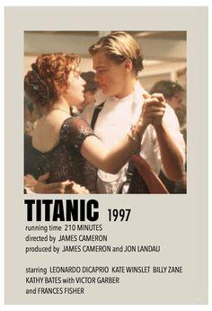 Titanic Movie Poster, Iconic Movie Posters, Minimal Movie Posters, Minimal Poster, Iconic Movies, Film Posters, Good Movies, Film Polaroid, Polaroids
