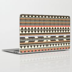 Quirky Aztec print laptop skin to jazz up your studying!