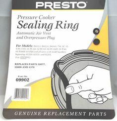 Presto Pressure Cooker Sealing Ring Gasket 09902 Presto Pressure Cooker Sealing Ring Gasket 09909