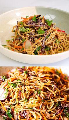 Easy Casserole Recipes, Easy Pasta Recipes, Healthy Salad Recipes, Lunch Recipes, Healthy Dinner Recipes, Chicken Recipes, Vegetarian Recipes, Easy Meals, Cooking Recipes