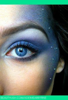 Aerial silks make-up