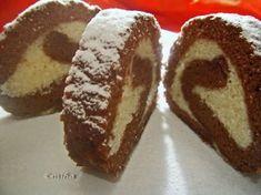 Rulada cu crema de lapte, Rețetă de Miha278 - Petitchef Romanian Food, Chocolate Coffee, Delicious Desserts, French Toast, Sweet Treats, Cheesecake, Muffin, Cooking Recipes, Sweets