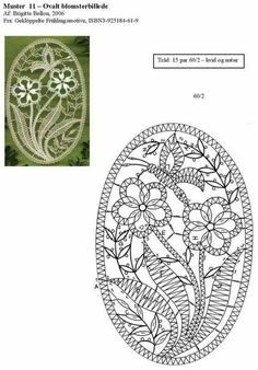 Crochet Edging Patterns, Bobbin Lace Patterns, Crochet Motif, Bruges Lace, Bobbin Lacemaking, Lace Art, Creative Embroidery, Lace Jewelry, Lace Embroidery