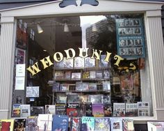 I want to go to there. Philadelphia's mystery bookstore.
