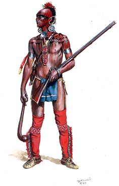 Shawnee warrior, by Don Troiani.