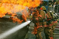 Training @ North Bend Fire Academy by Liz Jackson