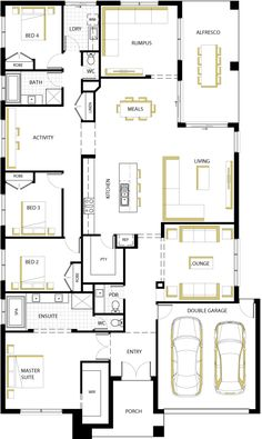 Ascot MK2. floorplan 35  Love this floor plan