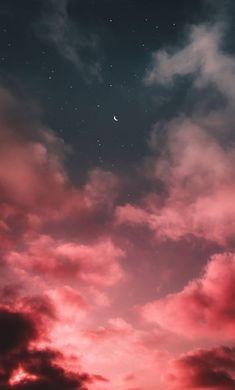 Log in - Space, Stars, Nebulas, & Night skies. Pink Clouds Wallpaper, Night Sky Wallpaper, Black Background Wallpaper, I Wallpaper, Aesthetic Pastel Wallpaper, Aesthetic Backgrounds, Aesthetic Wallpapers, Sky Aesthetic, Aesthetic Collage