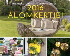 Szép kertek   Ilyen 2016 álomkertje   Top 5 trend a kertben   Nyereményjáték Gardenexpo 2016 Top 5, Outdoor Furniture Sets, Outdoor Decor, Porch Swing, Home Decor, Decoration Home, Room Decor, Porch Swings, Home Interior Design