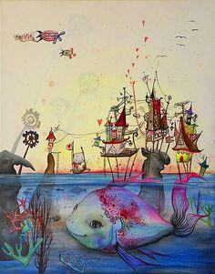 pridavkova.art / Fishy