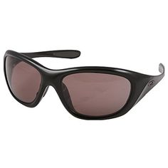 Oakley Womens Disclosure Polarized Oval SunglassesPolished Black FrameGrey LensOne Size -- For more information, visit image link.