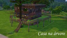 O sonho de qualquer criança é ter uma casa na árvore, e o de um sim que ama o ar livre também.  #sims #sims4 #download #house #cc #cp #arlivre #casanaarvore #katsims