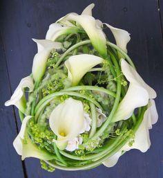 Callas #Wedding #Flower  #Bouquet