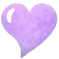 Set de table coeur parme intissé en tissu non tissé, 50 sets de table coeur parme (lavande) intissé en forme de coeur 38 cm, déco de table.