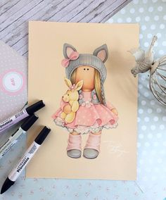 20 ideas for baby drawing cartoon cute animals Baby Painting, Painting For Kids, Art For Kids, Clipart Baby, Baby Clip Art, Baby Art, Cartoon Drawings, Cute Drawings, Baby Illustration