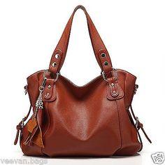 Women-Handbags-and-Purses: New Women Hobo Handbag PU Leather Purse Shoulder Messenger Bags Women Crossbody  - BUY IT NOW ONLY $26.09