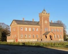 Gyldenholm Slot og Gods 10 km SØ for Slagelse