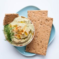 Low calorie Cucumber Hummus Recipe with Dill - Vegan Family Recipes