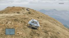 You Will Not Believe This Gravity-Defying GTA V Car Chase