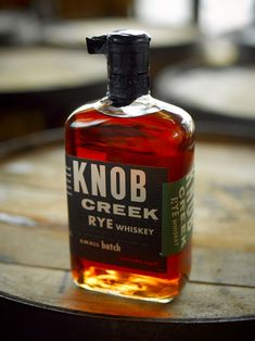 Would like to try a bottle of this! Knob Creek Rye Whiskey -small batch-