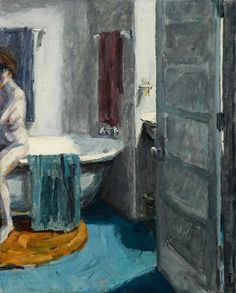 Roger Kuntz (1926 - 1975) Bath Study