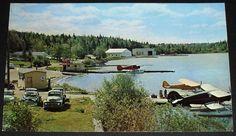 Ely Minnesota – Seaplane Base on Lake Shagawa Postcard