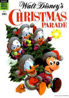 Walt Disney's Christmas Parade, Giant Dell Comic, No.6, 1954.