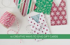 Roundup: 10 Creative DIY Gift Card Holders » Curbly | DIY Design Community