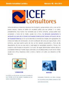 Boletín Mensual de Actualidad Jurídica. Edición Número VII