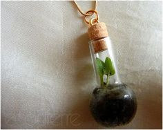 How to Make Terrarium Necklace Tutorials