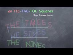 Waldorf ~ 2nd grade ~ Math ~ Multiplication ~ Times Tables for 3s, 6s, 9s  ~ video