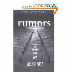 Another extremely good read by Philip Yancey - worth the time!