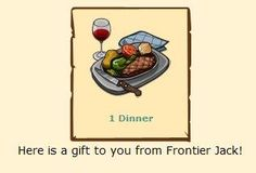 Photo: Today we are giving away a FREE Dinner just by clicking the below link! Share this post with your friends to let them know the FREE meal!    http://zynga.tm/i20 <-- Get a FREE Dinner Now!