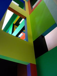 Krijn de Koning's wonderful permanent installation to Rietveld in Utrecht
