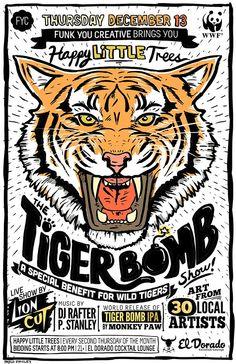 The Tiger Bomb! Art Show