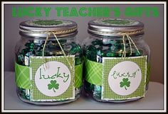 St Patty's Teacher Gift
