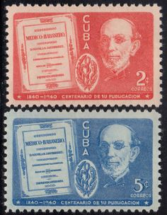 1940 Cuba Stamps Cuban Medical Review 100th Anniv. Complete Set  MOG NEW