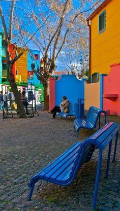 Caminito. La Boca. Buenos Aires, ARGENTINA