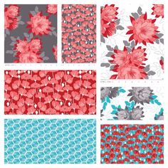 """5"""" Stacker Charm Pack Squares - Desert Bloom by Amanda Herring for Riley Blake Designs (Yardage, 100% Precut Cotton Quilting Fabric) • 42 - 5"""" Squares • Bundle includes at least 1 piece of each print"""