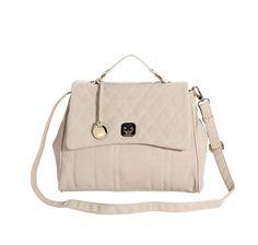Baixou ainda mais !!! Bolsa de mão e transversal Macadâmia R$ 83,70 no site www.shopshoes.com.br