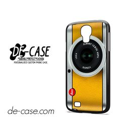 Silver Yelow Leica Camera DEAL-9597 Samsung Phonecase Cover For Samsung Galaxy S4 / S4 Mini