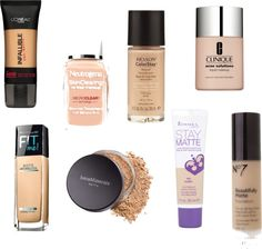 The Best Foundations for Oily Skin
