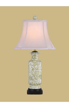 East Enterprises Porcelain Vase LPNG1011D Table Lamp In Lemon Green $152