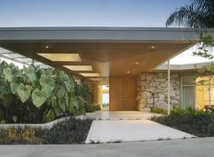 Stunning mid-century modern house built in 1969 by James E. Hurley, La Jolla, California.