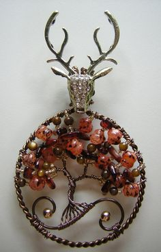 House Baratheon Inspired Tree of Life by RachaelsWireGarden, $55.00