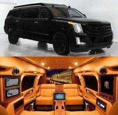 Luxury Cars Suv Cadillac Escalade 67 New Ideas - Land Rover defender Cadillac Ats, Cadillac Escalade, Suv Cars, Sport Cars, Luxury Van, Mobile Office, Best Luxury Cars, Luxury Cars Interior, Interior Design